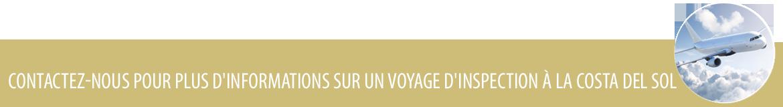 Voyage d'inspection