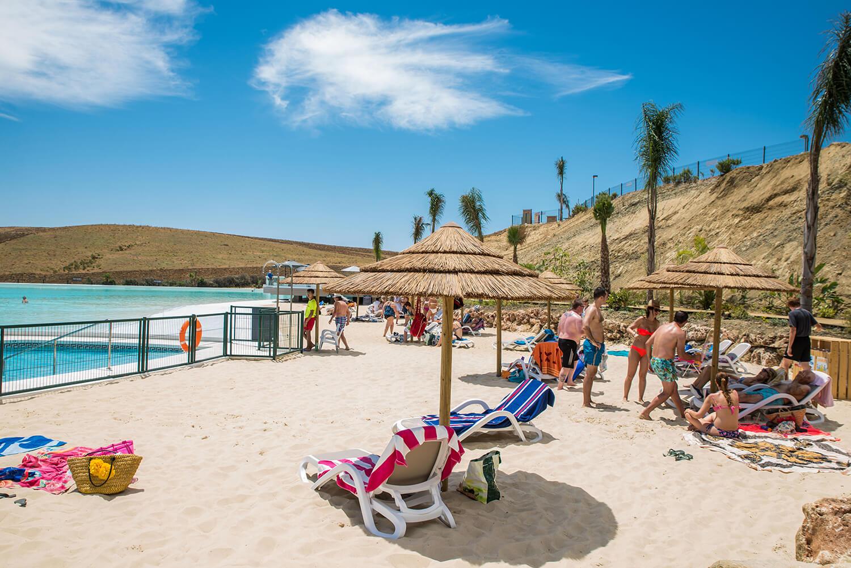 Alcazaba lagoon